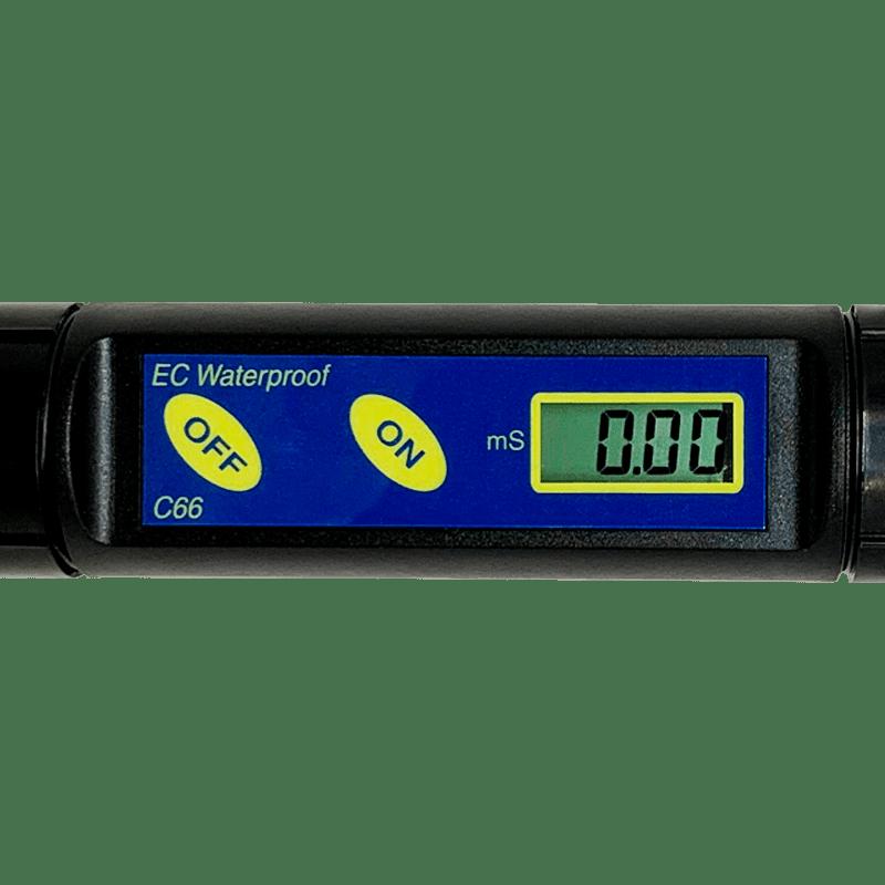 Дисплей кондуктометра Milwaukee C66 Sharp