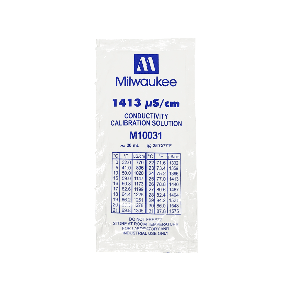 калибровочный раствор Milwaukee M10031 1413 uS/cm 20 мл