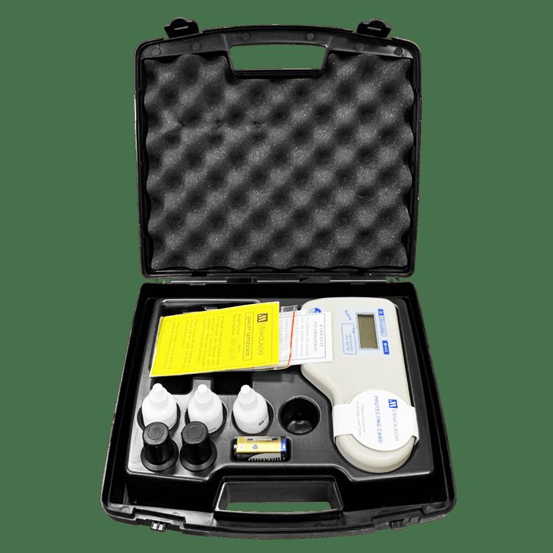 Удобный кейс для хранения и переноски прибора мутнометра Milwaukee Electronics Mi415