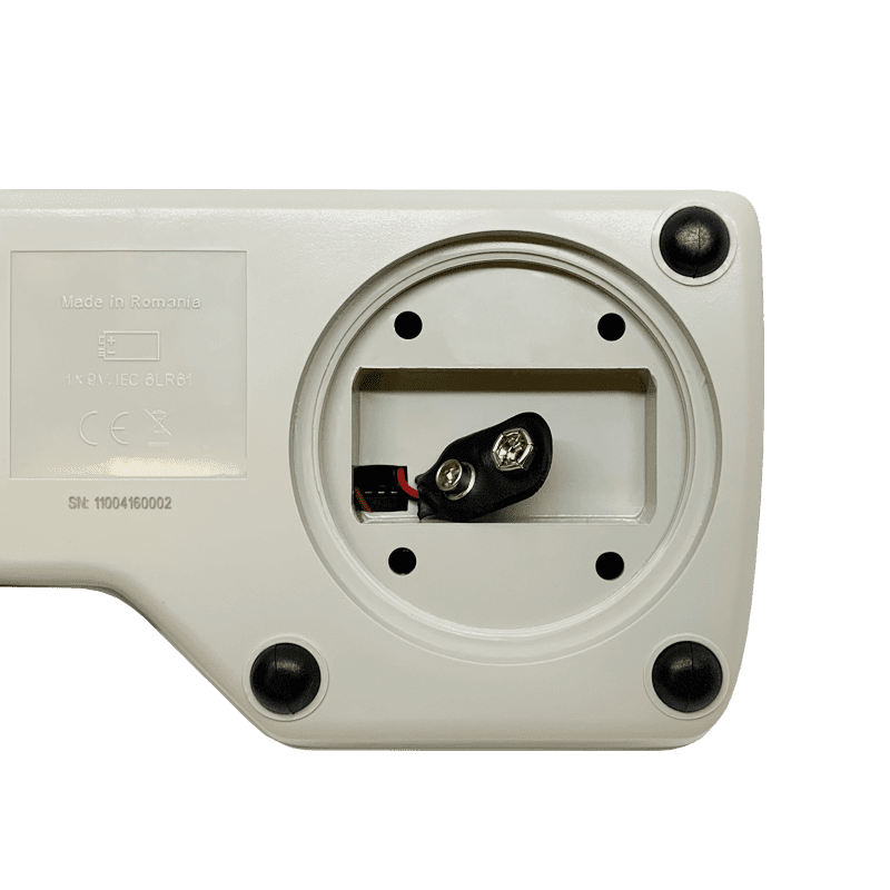 Мутномер Milwaukee Electronics Mi415 отсек под батарею крона