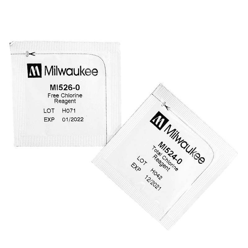 Мутномер Milwaukee Electronics Mi411 порошки реагенты для опредения свободного и общего хлора