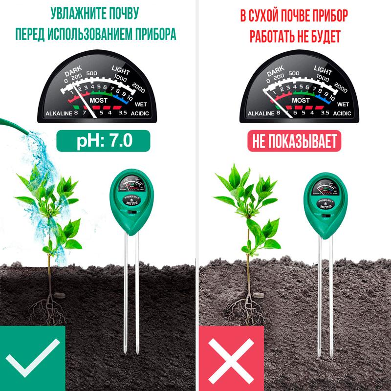 Измеритель освещения растений ETP307