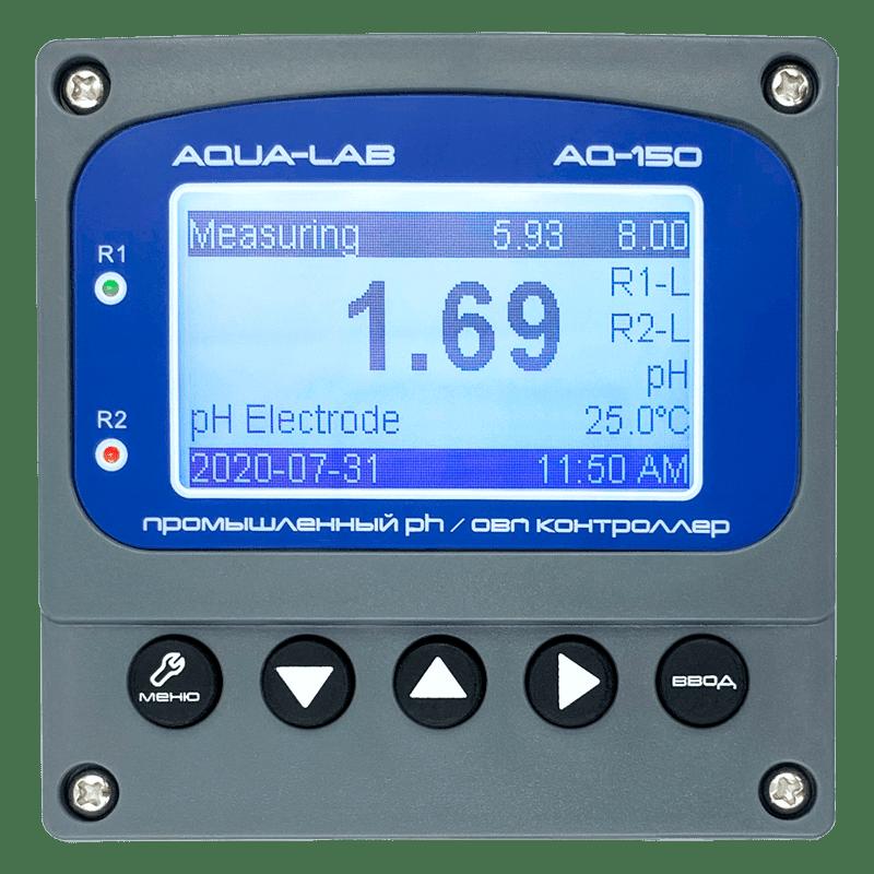 Электрод pH в комплекте с прибором. Провод 3 метра с удлинением до 30 метров. Измеряемая температура от 0 до 100ºC. Диаметр 2.5 см