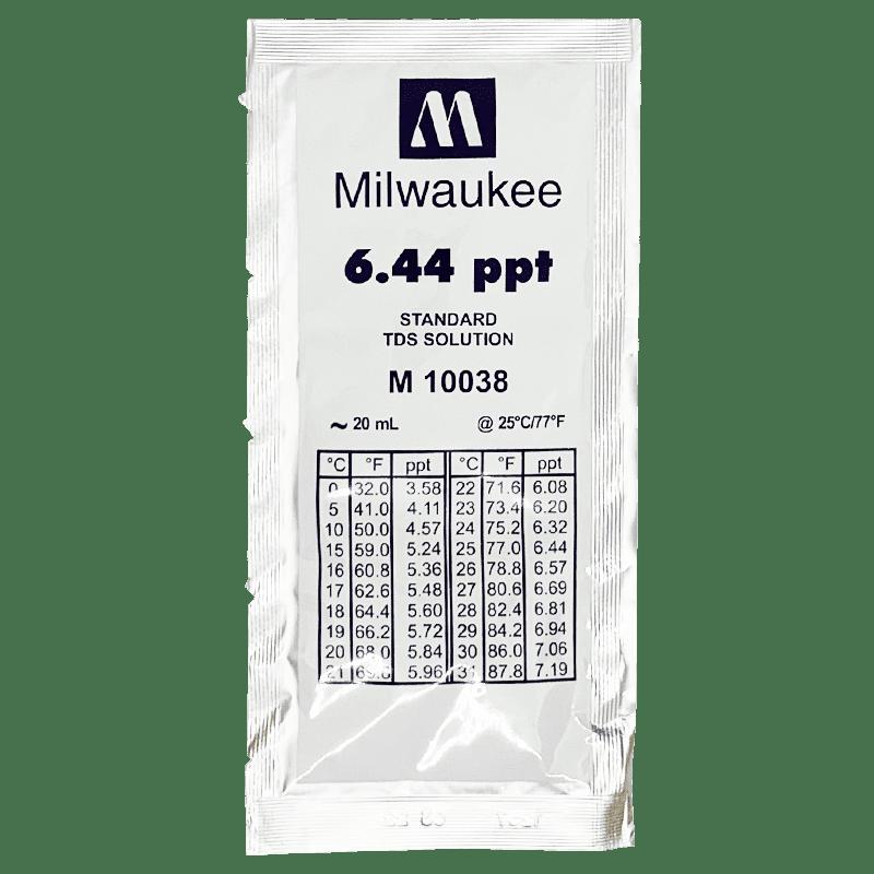 калибровочный раствор Milwaukee M10038 6.44 ppt 20 мл