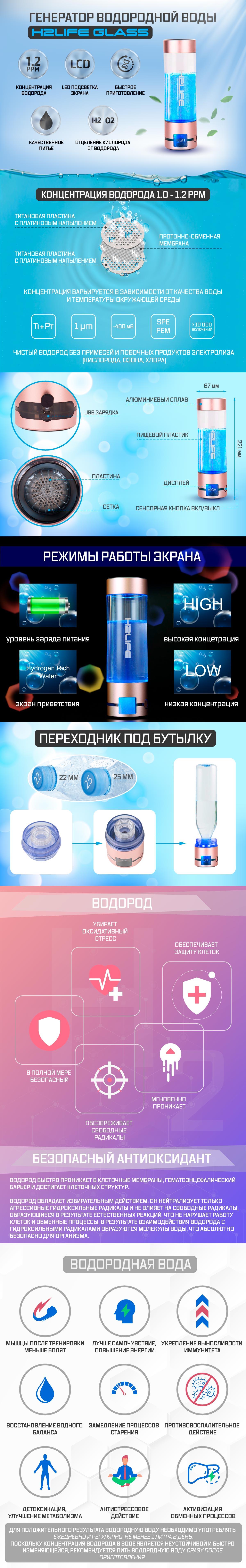 h2life glass описание