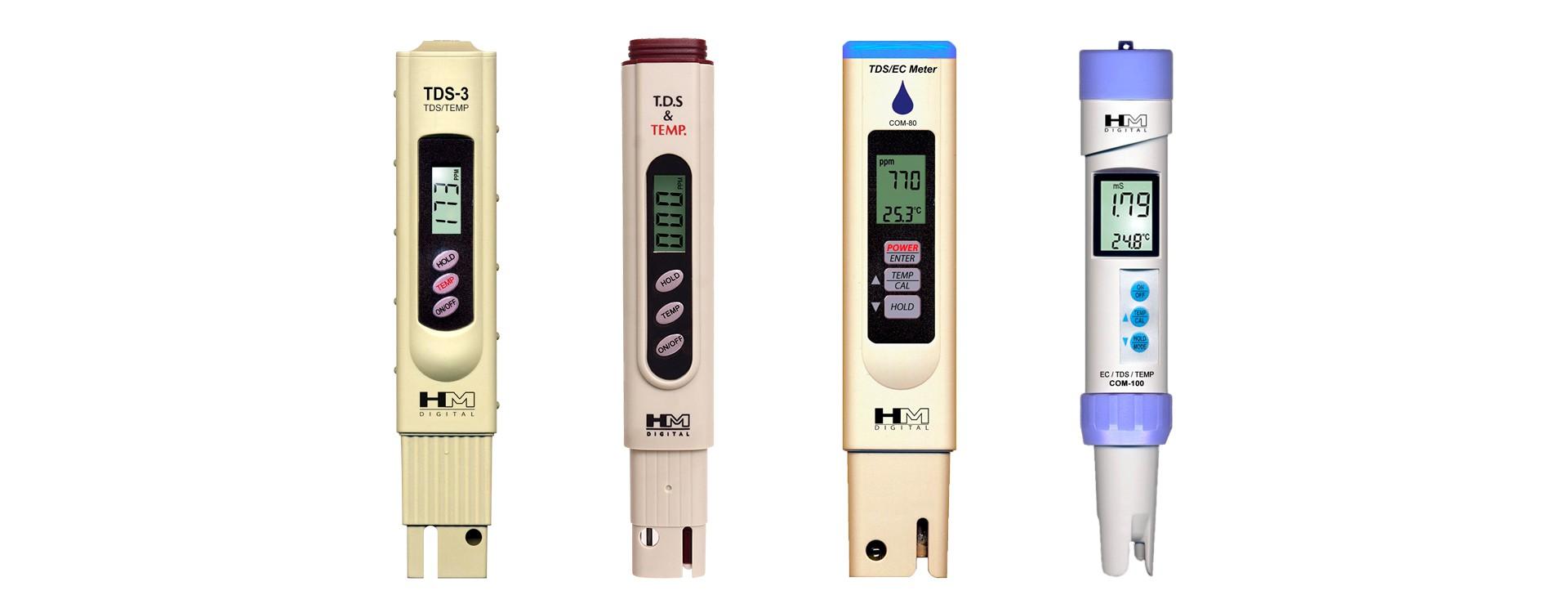 Что такое кондуктометр. Как измеряет TDS метр
